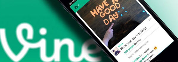 Profil d'un média exclusivement mobile: Vine