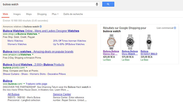 bulova-watches-serp-with-google-shopping
