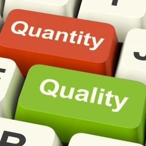 Quantity vs Quality in Content Marketing
