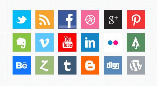 Social Medias Icons