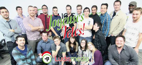 L'équipe de Ludis Media vous souhaites de joyeuses fêtes