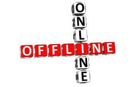 on line vs off line marketing