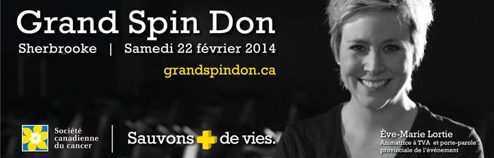 Grand Spin Don 2014 – Pédalons pour la cause
