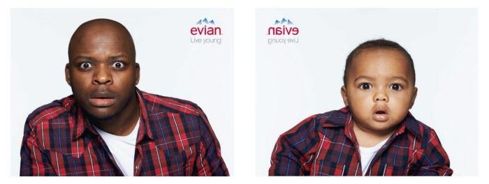 evian-publicité