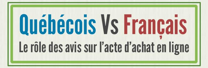 """[Étude] Le """"rôle"""" des avis lors de l'acte d'achat: Québécois Vs Français"""