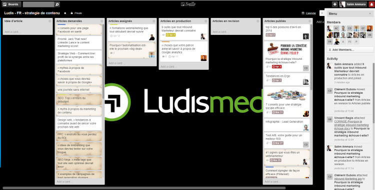 Calendrier Trello.9 Tools Every Inbound Marketer Should Be Using Ludis Media
