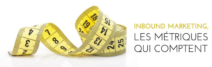 Inbound marketing – Les métriques qui comptent