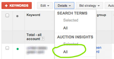 google-adwords-auction-insights-dropdown