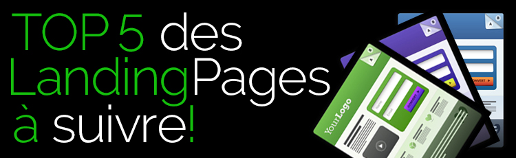 Mes 5 landing pages favorites