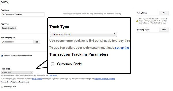 google-tag-manager-track-type