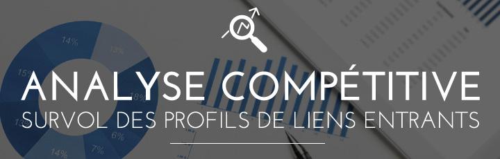 Analyse compétitive – Survol des profils de liens entrants