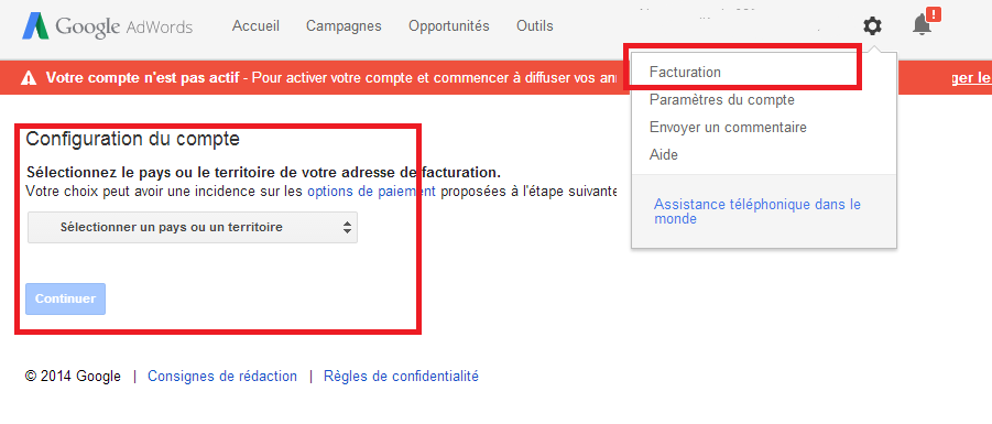 google-adwords-configuer-compte