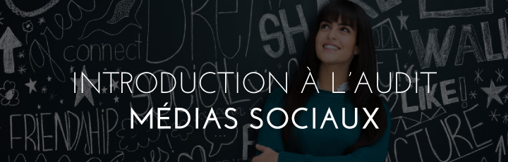 Média sociaux : introduction à l'audit