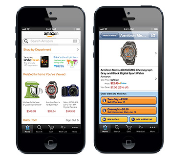 Amazon iPhone iOS App