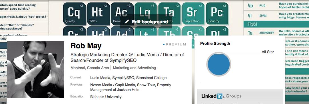 Rob May - LinkedIn Profile