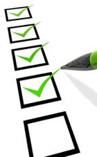 Checklist UI UX