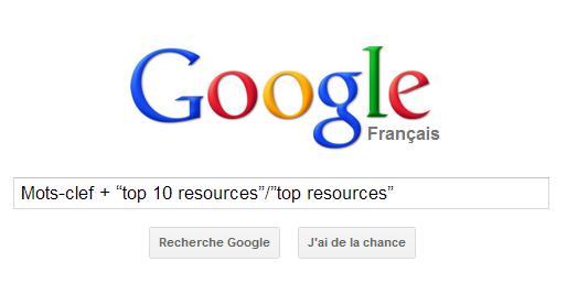 google recherche avance