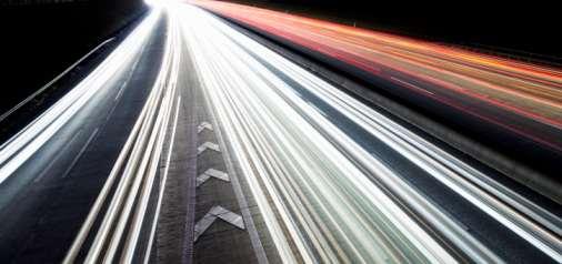 lumières à haute vitesse