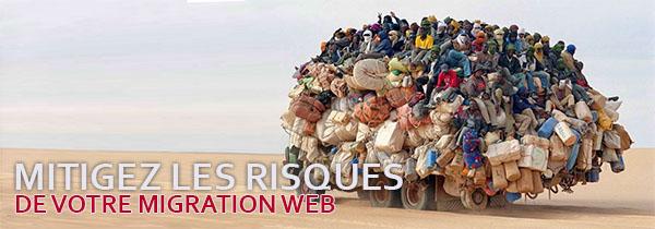 Mitigez les risques de votre migration de site web