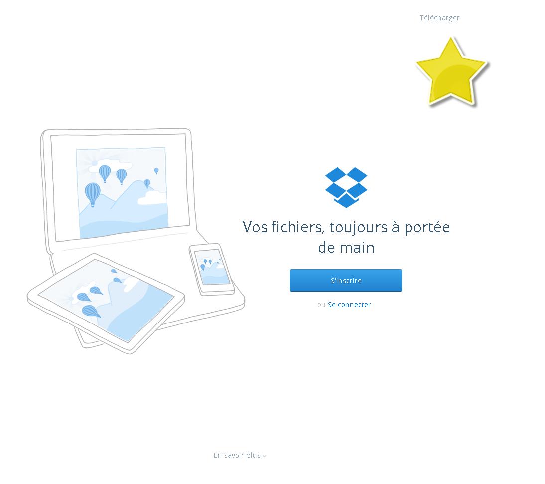 screenshot example dropbox