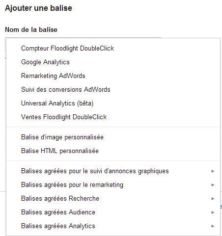 types-de-balises-google-tag-manager
