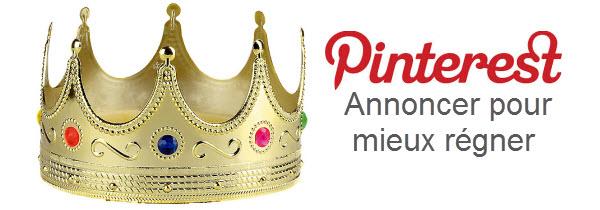 Pinterest annoncer pour régner