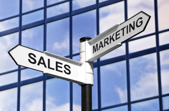 Sales & Marketing business signpost