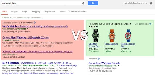 text-vs-google-shopping-ads