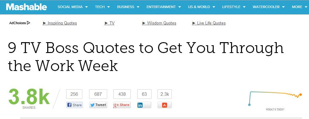 9 tv quotes