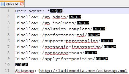 index robots ludismedia