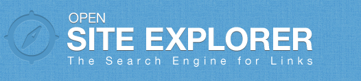 Open Site Explorer (')