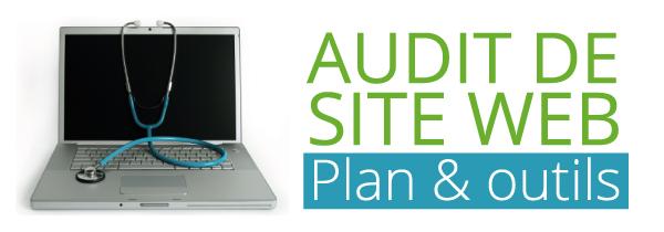 Audit de Site Web-plan et outils-banner
