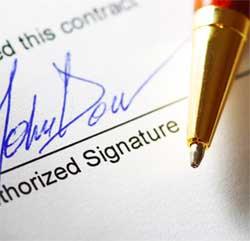 Inbound team signature