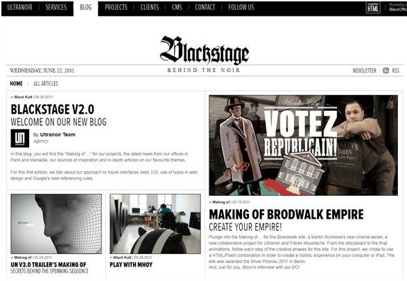 backstage-typographie