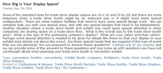display-space
