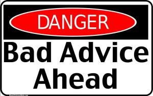 bad-advice-blogging-ahead