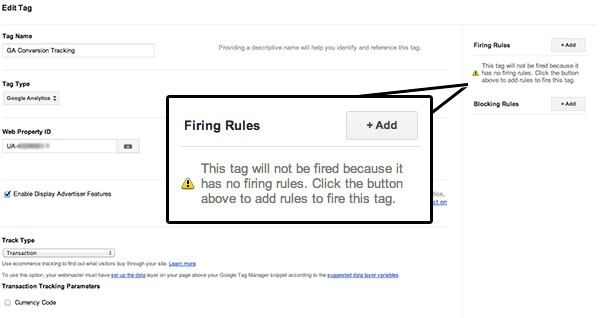 google-tag-manager-firing-rules