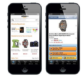 Amazon iPhone iOS App