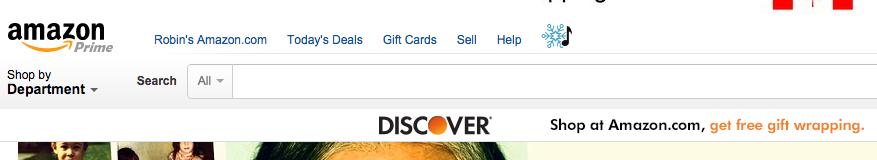 Amazon Prime Shopping